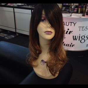 Accessories - Ombré wig black on top